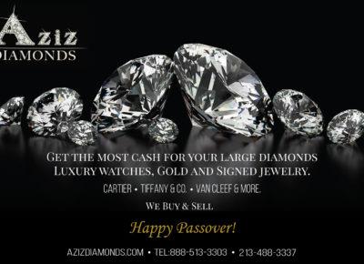aziz diamond magazine